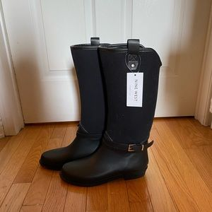 NINEWEST rubber boots - size 9